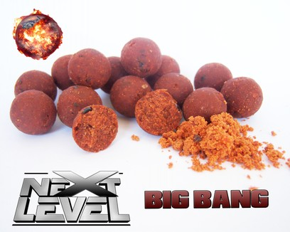 "ESSENCE BAITS "" NEXT LEVEL "" BIG BANG BOILIES 750 GR"