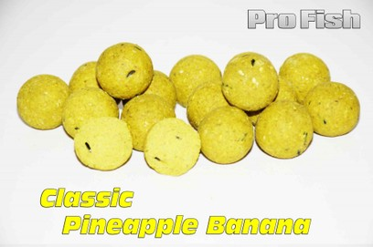 "ESSENCE BAITS "" PRO FISH "" CLASSIC PINEAPPLE BANANA 20 MM 2 KG"
