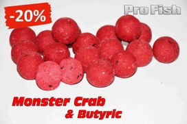 "ESSENCE BAITS "" PRO FISH "" MONSTER CRAB & BUTYRIC 20 MM 10 KG"