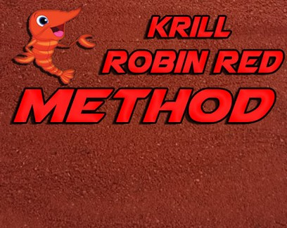 "ESSENCE BAITS "" KRILL & ROBIN RED "" METHOD MIX 1 KG"