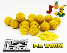 "ESSENCE BAITS "" NEXT LEVEL "" P.B. WORM  BOILIES 750 GR."