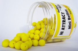 ESSENCE BAITS MINI BOILIES 8 MM PREDRILLED GIALLE