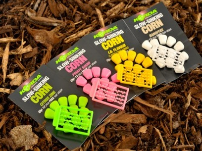"KORDA SLOW SINKING CORN ""BANOFFEE"" WHITE"